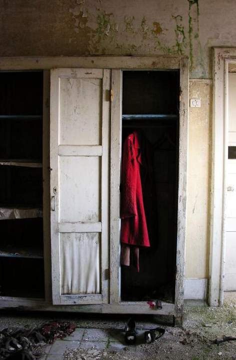 Interno di un armadio