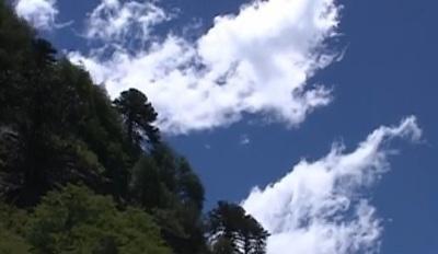 Immagine di nuvole nel Quinquen