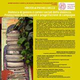 locandina che descrive i contenuti del master in violenza di genere dell'Universita di Padova