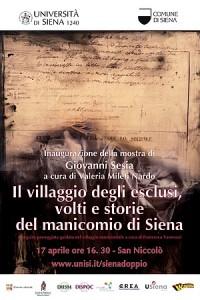 """Locandina Evento """"IL villagigo degli Esclusi"""" Giovanni Sesia17/04/2015"""