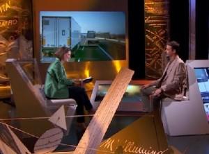 """Francesco Bogani """"Nel Ventre del bisonte"""" puntata speciale di Storie - TV Svizzera."""